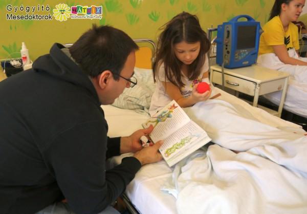 Mesedoktor, kórházi vizit