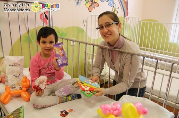 Csoki a beteg gyerekek gyógyulásáért