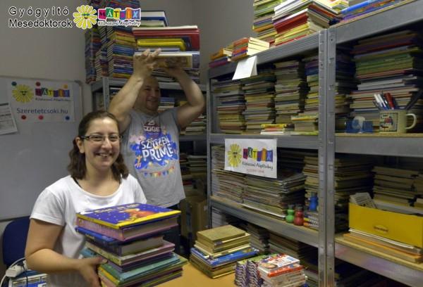 Mesedoktorok, mesekönyvek gyórházaknak