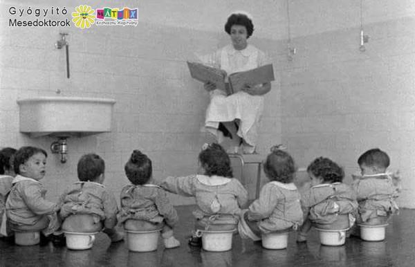 Meseolvasás régen: bölcsis dajkanéni, mint mesedoktor