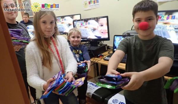 Számítógép adomány - gyermekek támogatása, bohócdoktorok