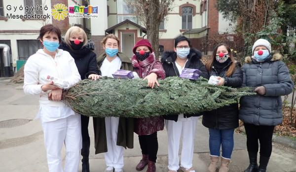 Kórházba került a Mesedoktor karácsonyfa