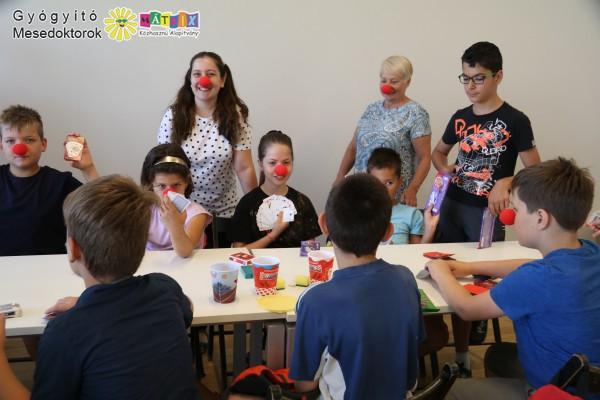Bohócdoktorok a gyermekekért - nyári táborozás támogatása