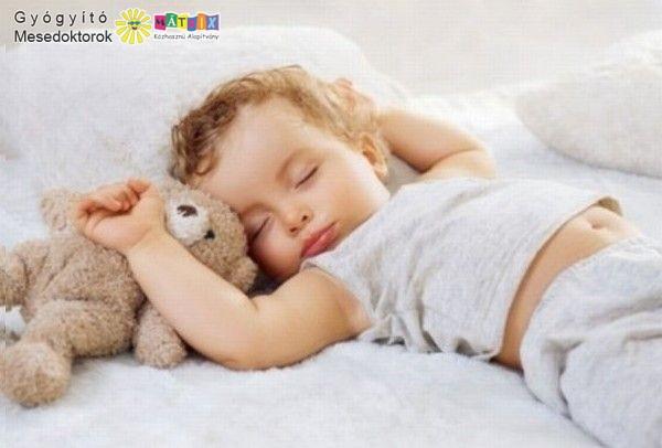 A gyermekek alvás közben dolgozzák fel az őket ért élményeket