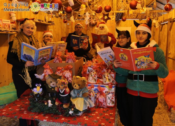 Karácsonyi jótékonykodás a Mátrix Közhasznú Alapítvány mesedoktoraival